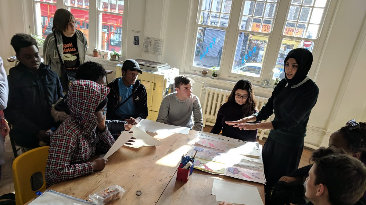 Gen Z trip to OOMK, 2019. Photograph: Jane Packham