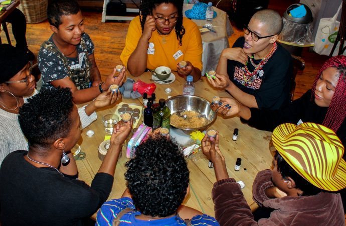 Rebekah Ubuntu, Afrofuturism & Chill, 2019. Photo courtesy of the artist