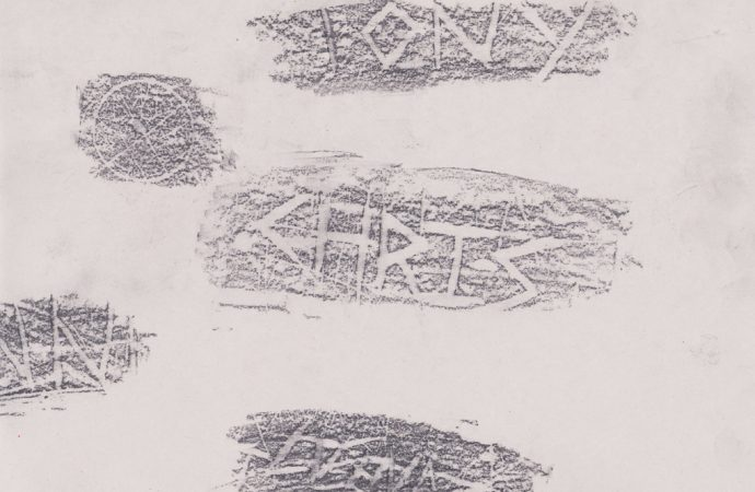Some rubbings from the session with Hannah Lees. Image © Esther Collins, 2016