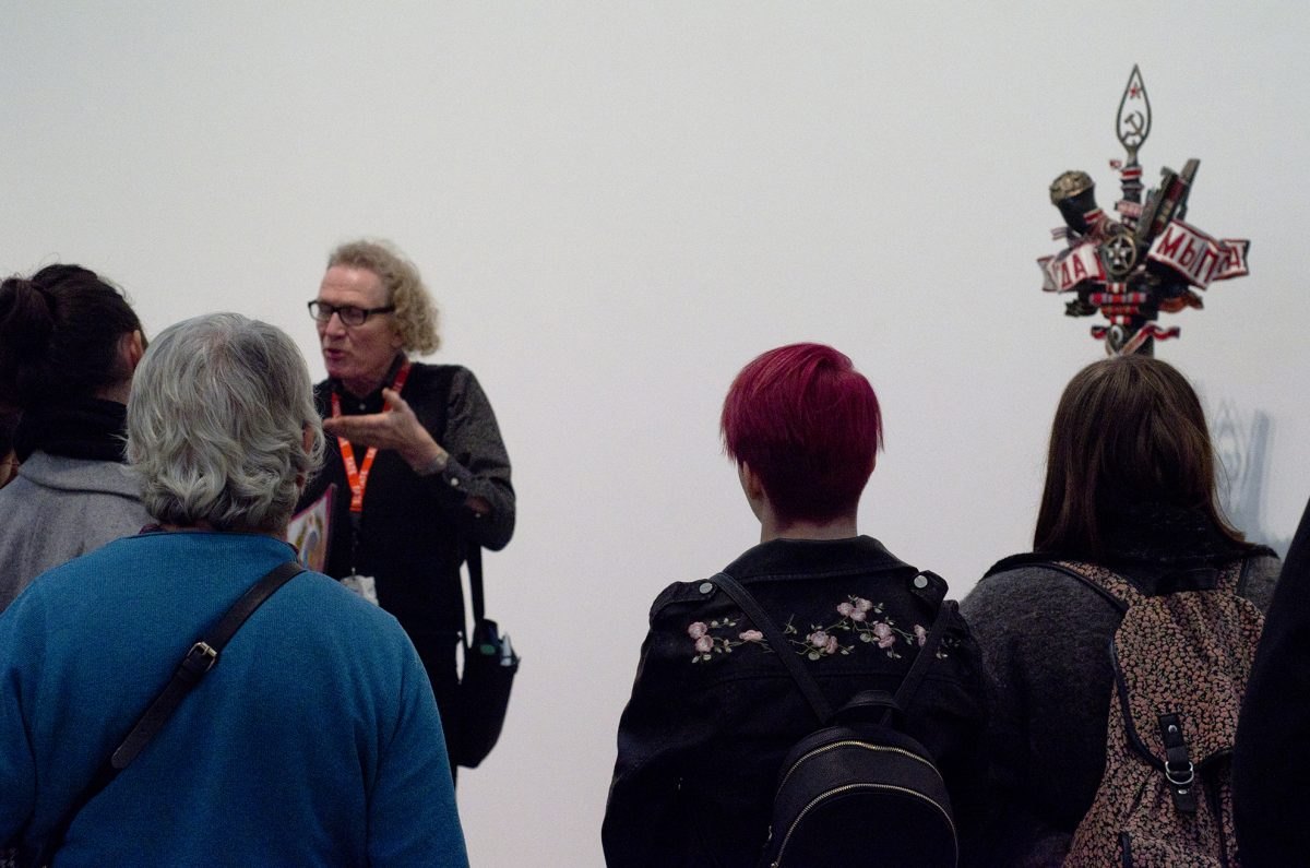Stuff Happend Here, Trip to Tate Exchange, 2017. Photo: M de Pulford