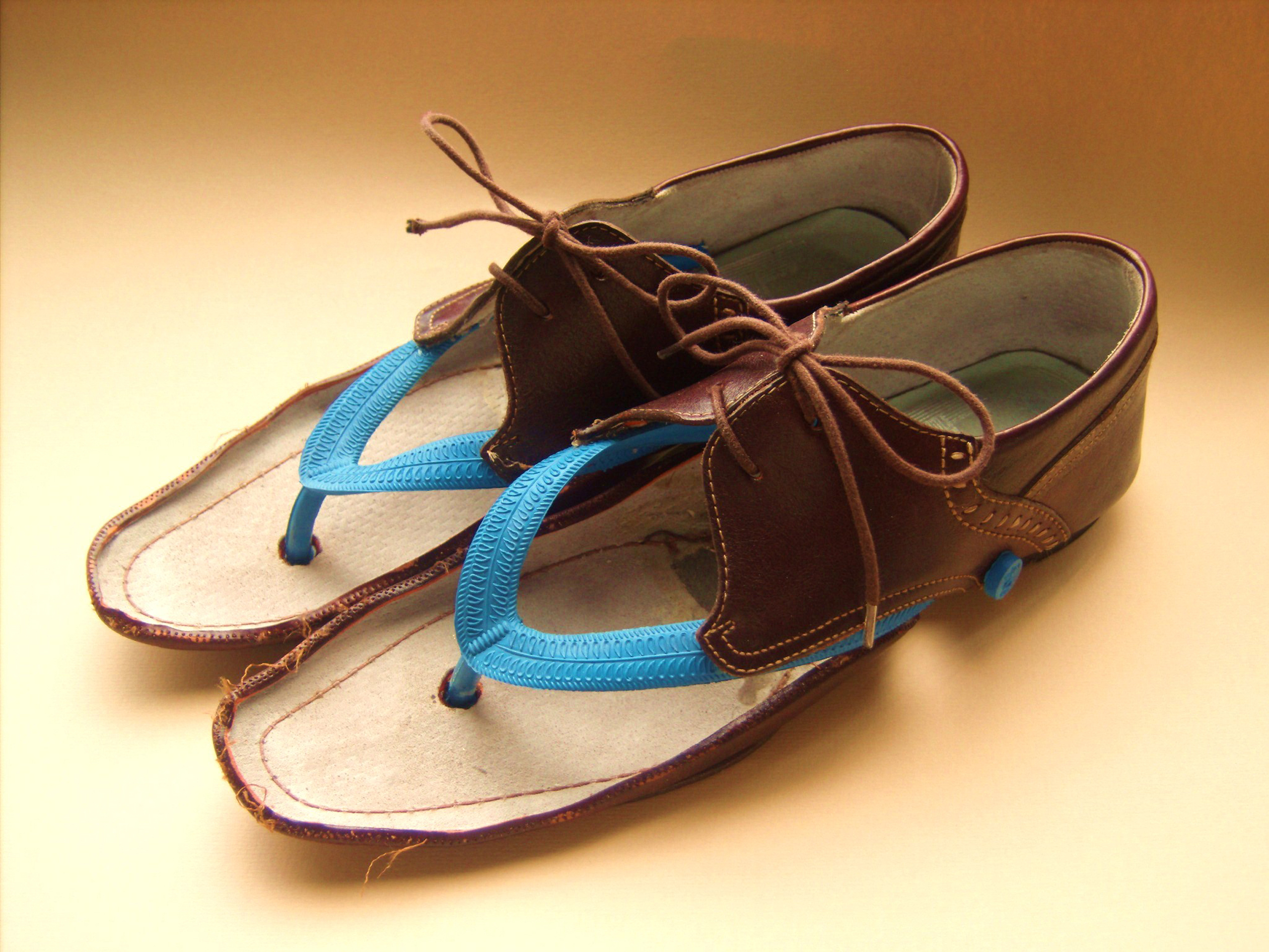Jasleen Kaur, Fathers Shoes, 2009. Image courtesy of the artist.