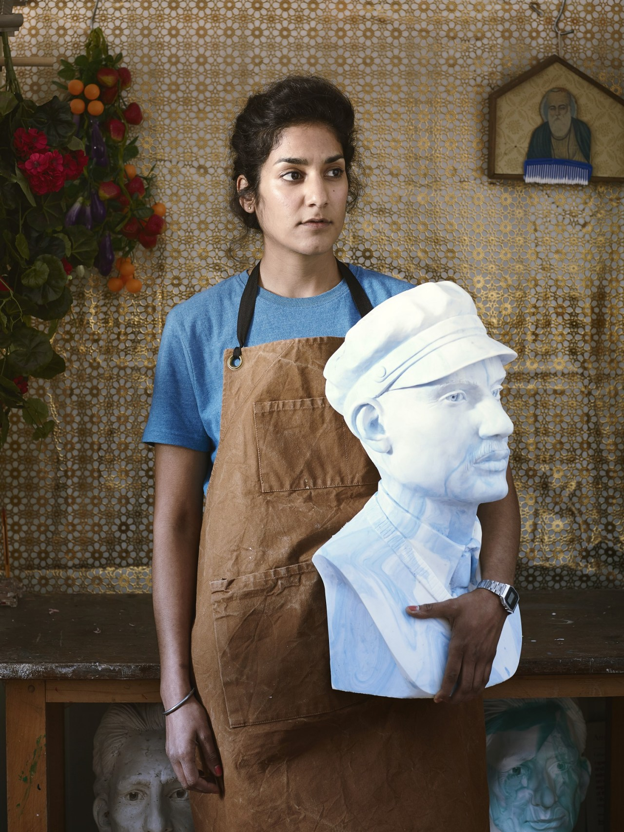 Jasleen Kaur, Marbled Busts, 2015. Image courtesy of the artist.